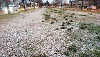 Nieve en Buenos Aires: el sudeste de la provincia se vistió de blanco