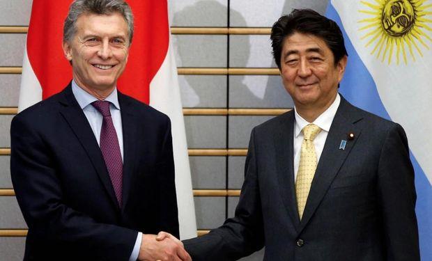 Macri destacó la presencia argentina en Japón.