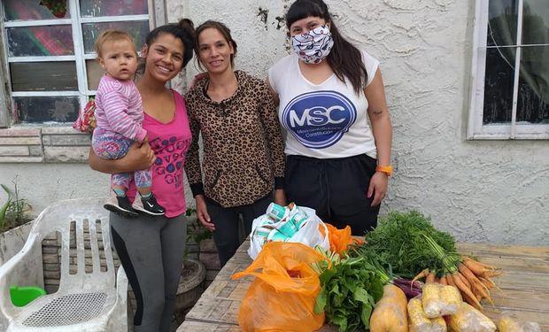 Los alimentos se donan a diferentes comedores de la región santafesina.