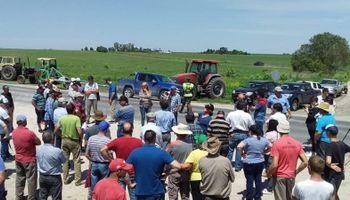 Productores marchan contra el cierre de las exportaciones de carne