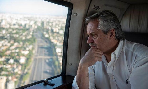 """Fernández agradeció a los camioneros con un video que destaca: """"Recibámoslos como se merecen"""""""