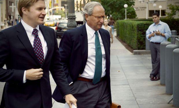 Los abogados de NML Capital, el fondo que litiga contra Argentina para cobrar la deuda en default. Foto: La Nación