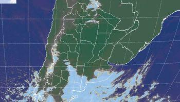 Abundante nubosidad sobre algunas regiones