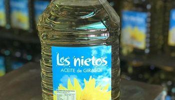 Prohíben la comercialización y elaboración de un aceite de girasol