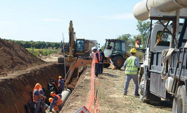 Las obras del Acueducto Desvío Arijón Etapa 2 se encuentran en pleno avance de ejecución.