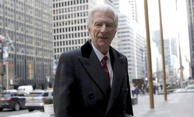 Daniel Pollack, el mediador que el viernes anunció un principio de acuerdo con dos de los fondos que litigan contra la Argentina por la deuda en default.
