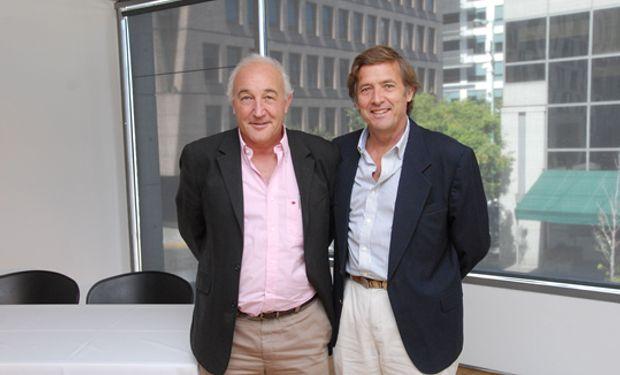 Martín Zingoni, Presidente de Forratec y Carlos Becco, director de la Unidad Comercial Multiplicadores y Tratamiento de Semillas de Syngenta.