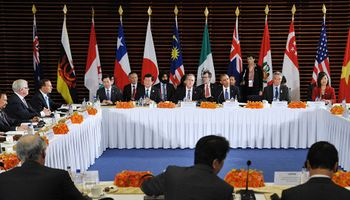 Firmaron el mayor tratado de libre comercio en el mundo