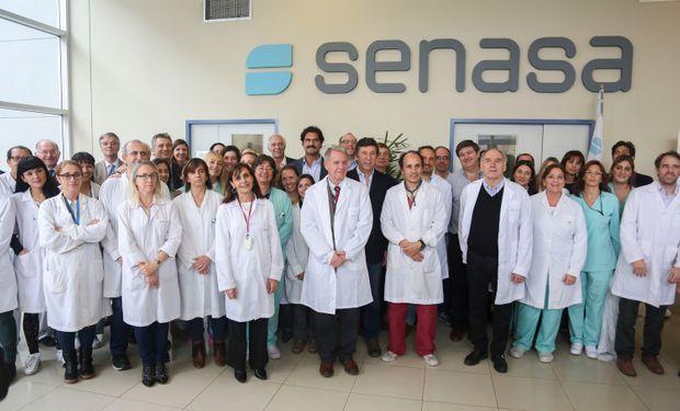 Destacan la integración de los laboratorios Animal y Vegetal del Senasa, que juntos conforman el Laboratorio Nacional de Referencia.