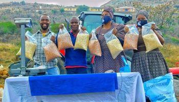 Inscriben a un programa de financiación de iniciativas agrícolas para combatir el hambre