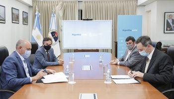 Hidrovía: se firmó el contrato y la Administración General de Puertos asume la gestión temporal