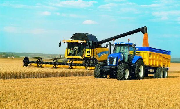 La venta de maquinaria agrícola subió 4,3% en el tercer trimestre interanual