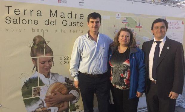 """Agroindustria participó en Italia de la 11ª edición de """"Terra Madre Salone del Gusto""""."""