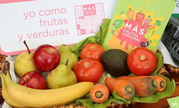 Programa de promoción para el consumo de frutas y verduras.