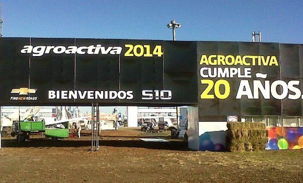 Desde mañana y hasta el sábado todo el campo se encontrará en AgroActiva