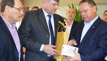 Nuevo encuentro del ministro Buryaile y su par Blairo Maggi en Rio Grande do Sul