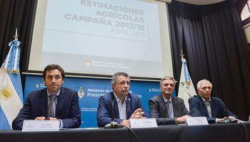 Agroindustria presentó las estimaciones de la campaña gruesa 2017/18