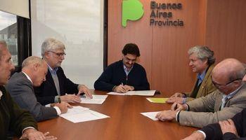 Buenos Aires: las cuatro cadenas firmaron un convenio con Agroindustria