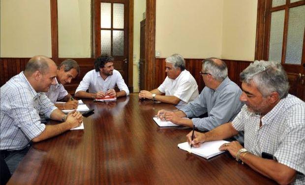 El subsecretario Troncoso recibió al ministro de Producción y Desarrollo Económico de San Juan, Andrés Díaz Cano.