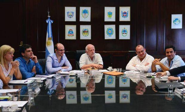 Negri participó del encuentro junto a representantes de los Ministerios de Producción y de Industria, Trabajo y Comercio de Corrientes