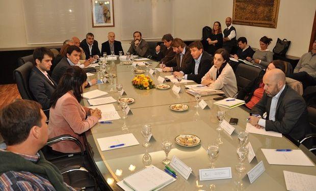 Encabezó la reunión el secretario de Coordinación y Desarrollo Territorial del Ministerio de Agroindustria de la Nación, Santiago Hardie.