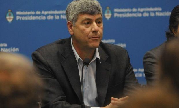 El actual ministro de agroindustria, Ricardo Buryaile.
