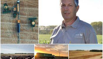 Marcos Guigou, el empresario uruguayo que cultiva 49.000 hectáreas cuenta los planes de ADP
