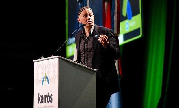 El ministro Sergio Bergman, en la apertura del congreso de Aapresid. Foto: Marcelo Manera