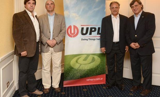 De izquierda a derecha: Fernando Lespiau Gerente General Argentina, Eduardo Teppaz Director de Marketing LatAm, Sagar Kaushik COO y Felipe MacLoughlin Presidente LatAm.