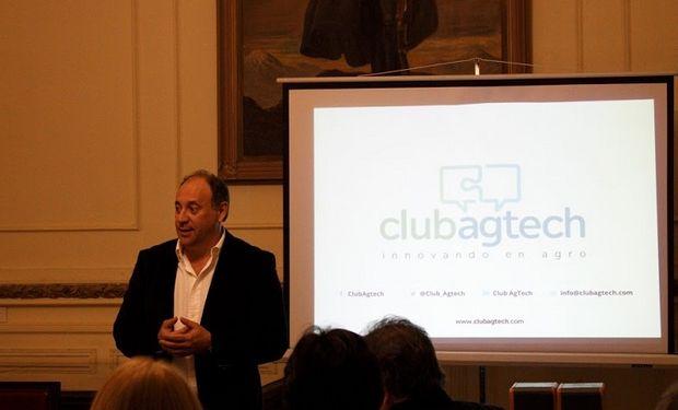 Federico Mayer,  cofundador del Club AgTech.