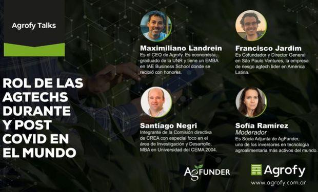 #AgrofyTalks: rol de las agtech durante y post covid en el mundo