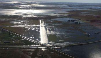 Ampliaron las brechas en la ruta 226 para drenar el agua en General Villegas