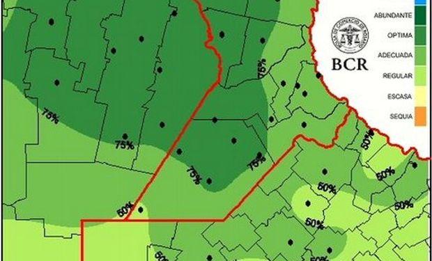 Reservas de pradera permanente al 11/03/15. Fuente: BCR