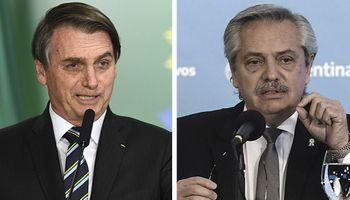 Alberto y Bolsonaro tendrán su primer cara a cara, virtual