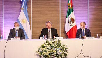 Fernández en México: se reunió con empresarios que son inversores en Argentina