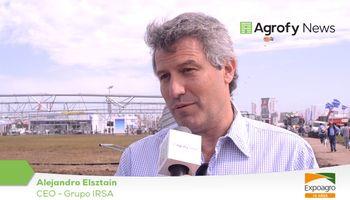 """Alejandro Elsztain: """"Se percibe alegría en los productores agropecuarios"""""""