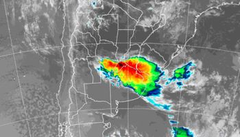 SMN: amplio alerta por tormentas sobre las principales provincias productoras