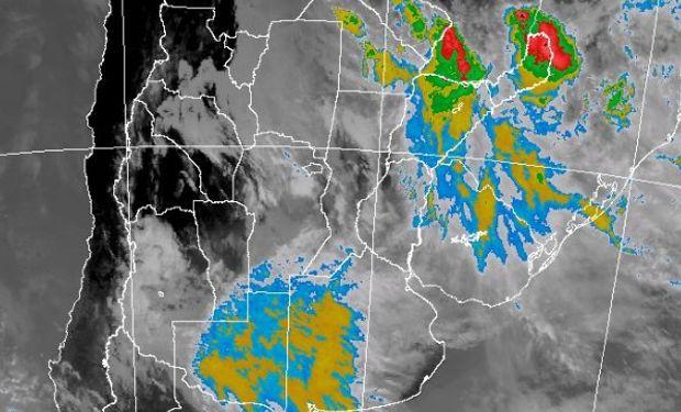 Alertas meteorológicos efectuados por el Servicio Meteorológico Nacional.