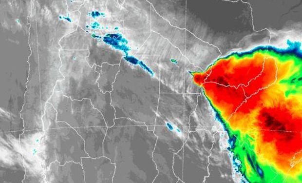 Alerta del SMN sobre regiones del NEA.