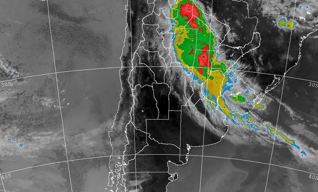 Imagen Satelital del SMN