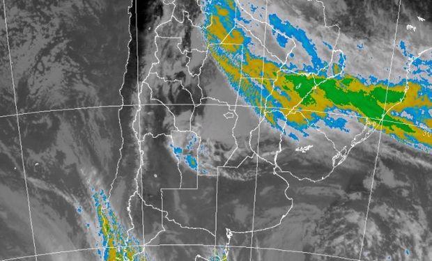 Abundantes precipitaciones en provincias del NEA.