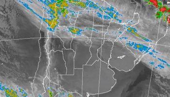 Alerta por abundantes precipitaciones sobre cinco provincias