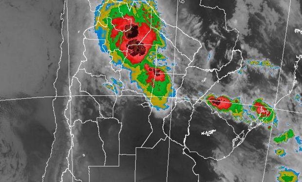 Algunas tormentas pueden ser intensas.