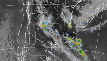 Alerta por tormentas fuertes sobre regiones de Buenos Aires
