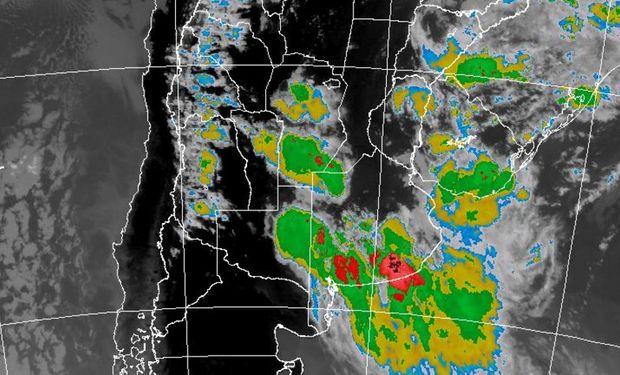 Tormentas fuertes sobre regiones del centro.