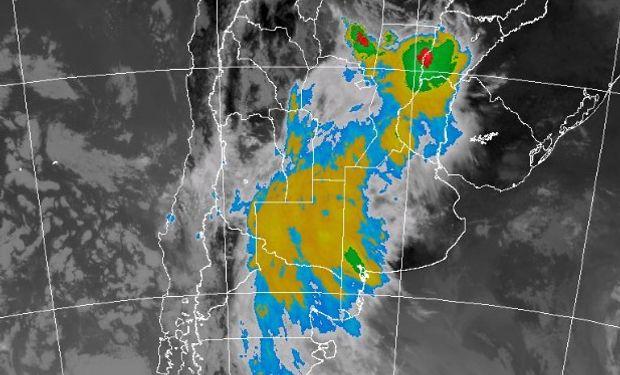 Tormentas fuertes sobre varias regiones.