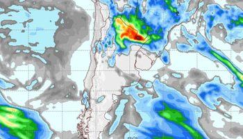 Se esperan algunas tormentas fuertes sobre el norte