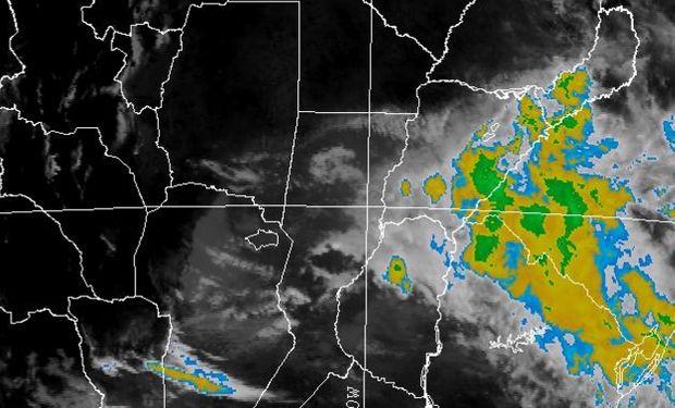 Advertencia del SMN por tormentas fuertes.