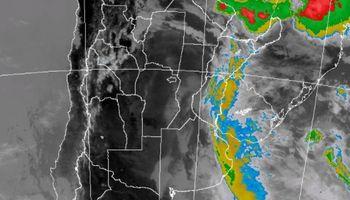 Se renovó el alerta por tormentas y afecta a 5 provincias