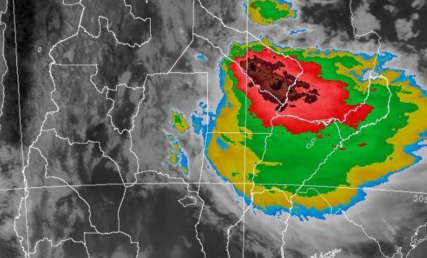 Regresaron las tormentas fuertes sobre el norte.